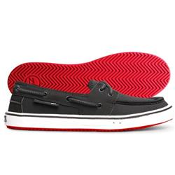 Zhik ZKG 30 Boat Shoe - Unisex-Black / Red