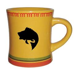 GSI Outdoors Outside / Inside Blanket Mug - Yellow Bass-Not Applicable