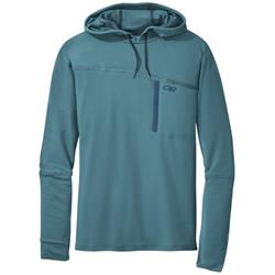 Outdoor Research Ensenada Sun Hoody - Mens-Washed Peacock