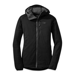 Outdoor Research Uberlayer Hooded Jacket - Womens-Black