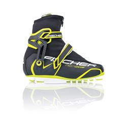 Fischer RC7 Skate Boot -White / Yellow