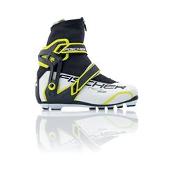 Fischer RC7 Skate My Style Boot - Womens-White / Black
