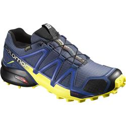 Salomon Speedcross 4 GTX - Slateblue / Blue Depth / Corona Yellow - Mens-Not Applicable