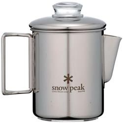 Snow Peak Stainless Steel Coffee Percolator-Not Applicable