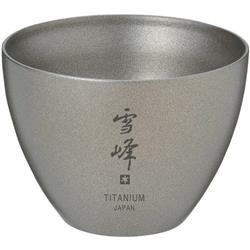 Snow Peak Titanium Insulated Sake Cup-Not Applicable