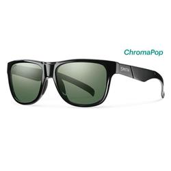 Smith Optics Lowdown Slim, Black Frame, Polarized Gray Green / Chromapop Polarized Lens-Not Applicable