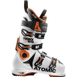 Atomic Hawx Ultra 130 Ski Boots - White / Orange / Black - Mens-Not Applicable