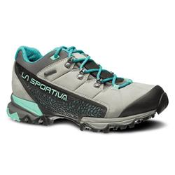 La Sportiva Genesis Low GTX - Womens-Grey / Mint