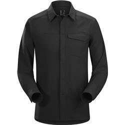 Arcteryx Skyline LS Shirt - Mens-Black