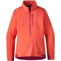Patagonia Airshed Pullover - Womens-Carve Coral