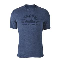 Patagonia Capilene Daily Graphic T-Shirt - Mens-Geologers / Dolomite Blue X-Dye