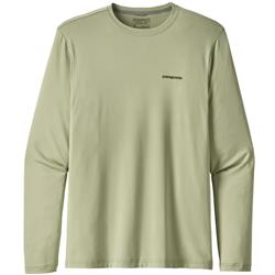 Patagonia Graphic Tech Fish Tee - Mens-Eye of Brown / Desert Sage