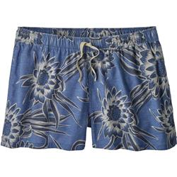 Patagonia Island Hemp Baggies Shorts - Womens-Cereus Flower / Dolomite Blue