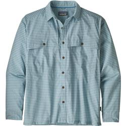 Patagonia Island Hopper II LS Shirt - Mens-Savage River / Atoll Blue