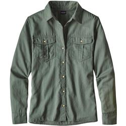 Patagonia Lightweight AC Buttondown - Womens-Hemlock Green