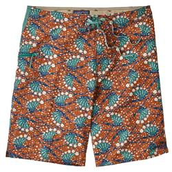 "Patagonia Stretch Planing Board Shorts, 20"" Outseam - Mens-Hexy Fish / Canyon Brown"