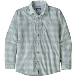 Patagonia Sun Stretch LS Shirt - Mens-Haven / Atoll Blue