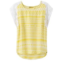 Prana Aleen Top - Womens-Lemongrass