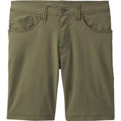 "Prana Brion Shorts, 11"" Inseam - Mens-Cargo Green"