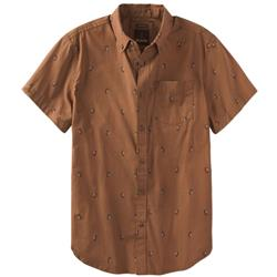 Prana Broderick Solid SS - Mens-Tree Bark