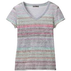 Portfolio SS V-Neck Top - Womens