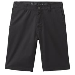 "Prana Table Rock Chino Short, 11"" Inseam - Mens-Black"
