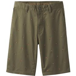 "Prana Table Rock Chino Short, 11"" Inseam - Mens-Cargo Green"