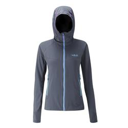 Rab Alpha Flux Jacket - Womens-Beluga / Beluga / Ash