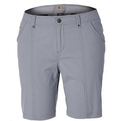 "Royal Robbins Discovery Short, 8"" Inseam - Womens-Light Pewter"