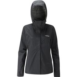 Rab Downpour Jacket - Womens-Black