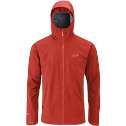 Rab Kinetic Plus Jacket - Mens-Dark Horizon / Shadow