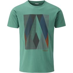 Rab Rock Graphic Tee - Mens-Fresh Green