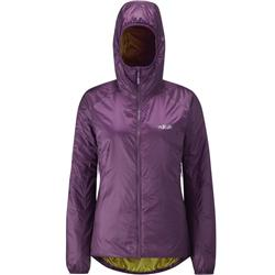 Rab Xenon-X Jacket - Womens-Berry / Mimosa