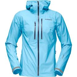 Norrona Bitihorn Dri1 Jacket - Womens-Ice Blue / Space
