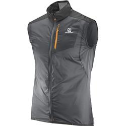 Salomon Fast Wing Vest - Forged Iron / Black - Mens-Not Applicable