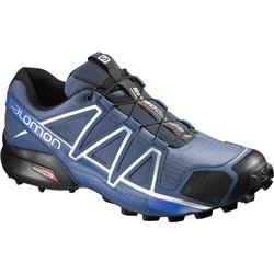Salomon Speedcross 4 - Slateblue / Black / Blue Yonder - Mens-Not Applicable