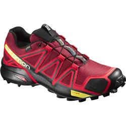Salomon Speedcross 4 GTX - Brique / Radiant Red / Black - Mens-Not Applicable