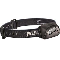 Petzl Actik Core Headlamp, 350 Lumens, Rechargeable Accu Core Battery-Black