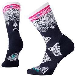 Smartwool Diamond Royale Crew Socks - Womens-Deep Navy Heather