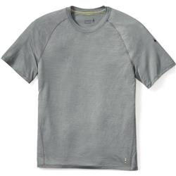 Smartwool Merino 150 Baselayer Pattern SS - Mens-Light Gray