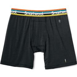 Smartwool Merino 150 Pattern Boxer Brief - Mens-Charcoal