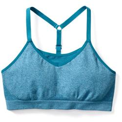 Smartwool PhD Seamless Strappy Bra - Womens-Glacial Blue Heather
