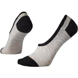 Smartwool Sadie Swirl Hide and Seek Socks - Womens-Charcoal Heather