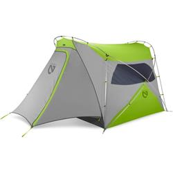 NEMO Equipment Wagontop 4P, 3 Season Tent - Granite Grey / Birch Leaf Green-Not Applicable