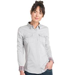 Kuhl Kiley LS - Womens-Ash / Lunar Dust