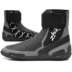 Zhik High Cut Race Boot - Unisex-Grey / Black