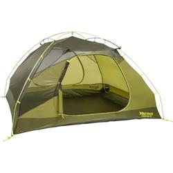 Marmot Tungsten 4P, 4 Person, Outdoor Tent-Green Shadow / Moss