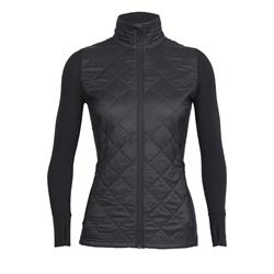 Icebreaker Ellipse Jacket - Womens-Black