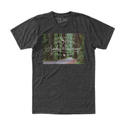 Hippy Tree Redwoods Tee - Mens-Heather Charcoal