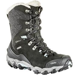 "Oboz Bridger Insulated 9"" B-Dry - Womens-Ebony Black"